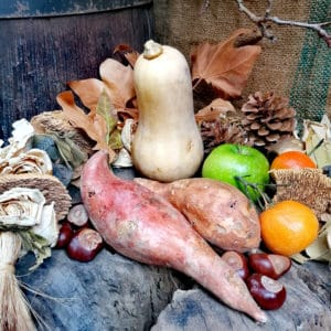 thanksgiving seasonal vegetables in autumn